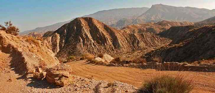 Motorcycle adventures: Riding on gravel roads in Tabernas Desert and Sierra de Baza 1