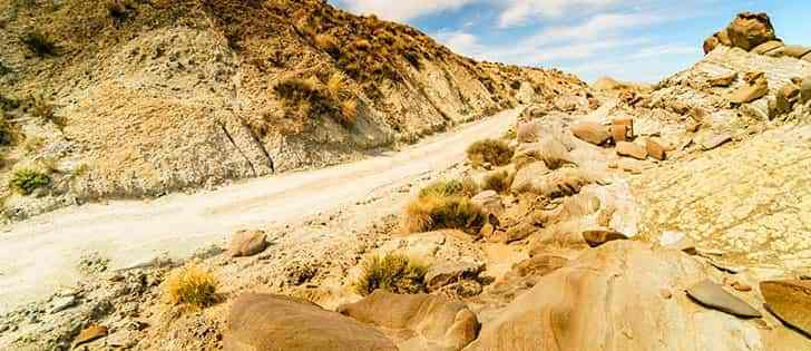 Motorcycle adventures: Riding on gravel roads in Tabernas Desert and Sierra de Baza 3