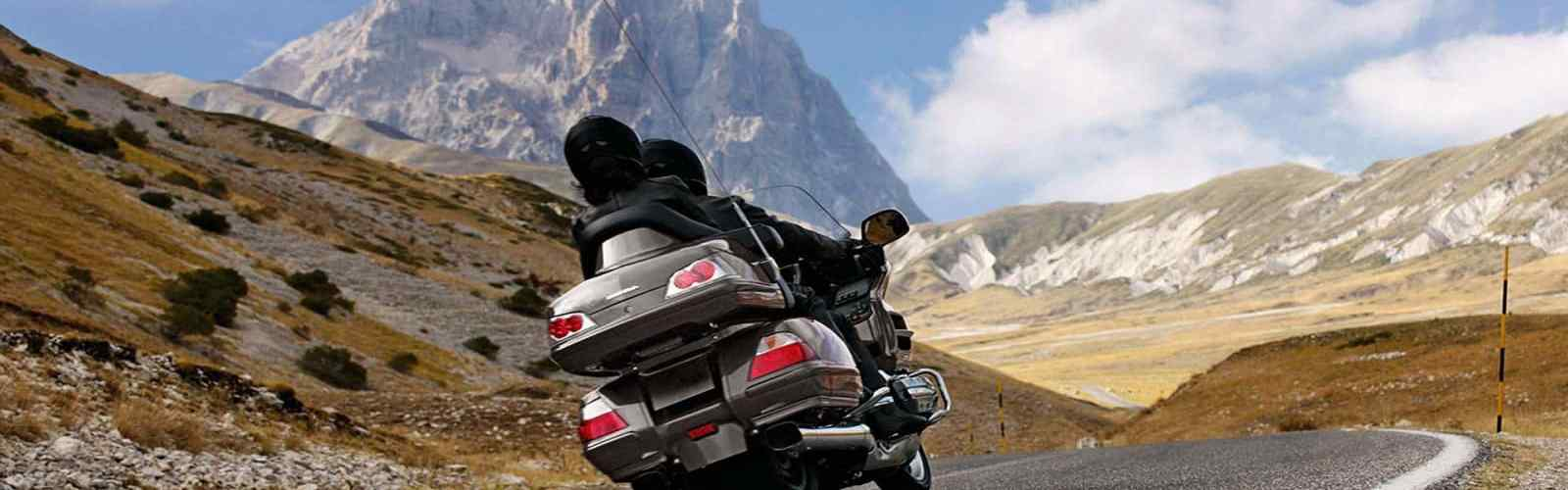 Great Dolomites Route, a legendary motorcycle road in Italy