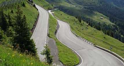 Motorcycle tour in South Tyrol crossing eight amazing passes