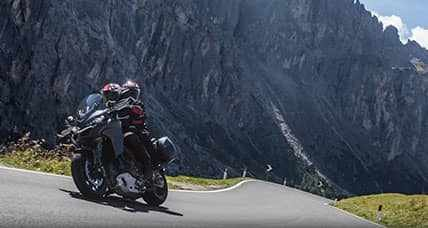Norway by motorcycle among stunning fjords on winding roads