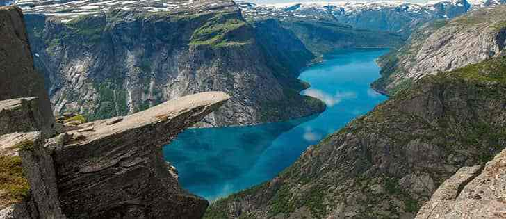 Motorcycle adventures: Norway by motorcycle among stunning fjords on winding roads 2