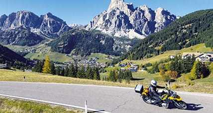 Winding Swiss Alpine roads & charming Northern Italian lakes
